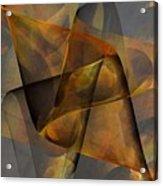 Autumn Wave Acrylic Print