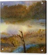 Autumn Wetlands Acrylic Print