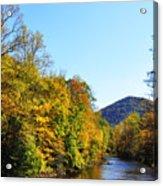 Autumn Williams River Acrylic Print