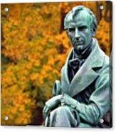 Autumn With Mr. Cooper Acrylic Print