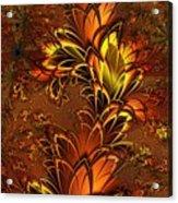 Autumnal Glow Acrylic Print