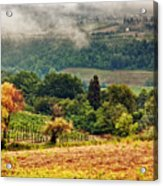 Autumnal Hills Acrylic Print