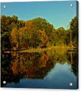Autumnal Reflecion Acrylic Print