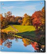 Autumnal Scene Acrylic Print