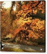 Autumn's Audience Acrylic Print