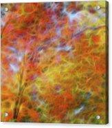 Autumn's Fire Acrylic Print