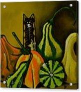 Autumn's Motley Crew Acrylic Print