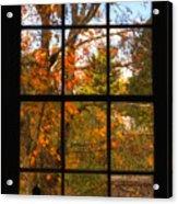 Autumn's Palette Acrylic Print by Joann Vitali