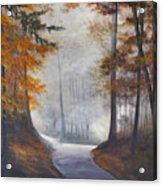 Autum's Mist Acrylic Print