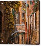 autunno a Venezia Acrylic Print