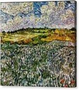 Landscape Auvers28 Acrylic Print