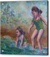 Ava And Friend Acrylic Print