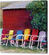 Available Seating Acrylic Print