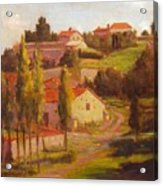 Availles Touarsailles France  Loire Valley Acrylic Print