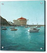 Avalon Harbor Afternoon Acrylic Print