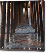 Avalon Pier At 32nd Street Acrylic Print