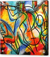 Avant-garde Jazz Acrylic Print