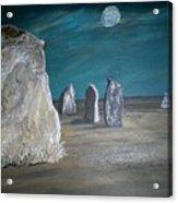Avebury Stone Circle Acrylic Print by Tracey Mitchell