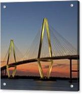 Avenell Bridge Sunset Acrylic Print