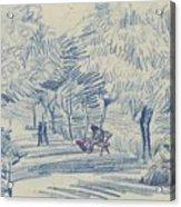 Avenue In A Park Arles, May 1888 Vincent Van Gogh 1853 - 1890 Acrylic Print