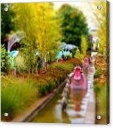 Avenue Of Dreams 4 Acrylic Print