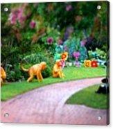 Avenue Of Dreams 9 Acrylic Print