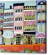 Avenue Of Gardens Acrylic Print