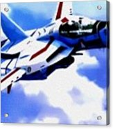 Aviation Art Catus 1 No. 1 19 H B Acrylic Print