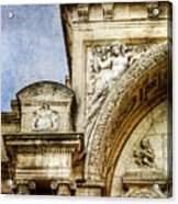Avignon Opera House Muse 1 - Vintage Version Acrylic Print