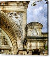 Avignon Opera House Muse 2 - Vintage Version Acrylic Print