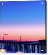 Avila Beach Pier At Sunset Acrylic Print