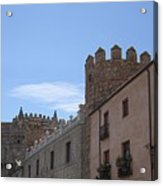 Avila Castle In The Sky Acrylic Print