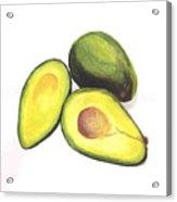 Avocados Acrylic Print