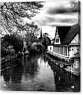 Avon Boathouse Acrylic Print