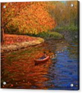 Avon In Autumn Acrylic Print