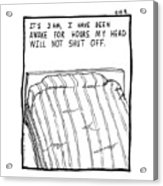 Awake Comic Acrylic Print