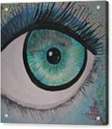 Awakening Eye Acrylic Print