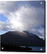 Awesome Aspect Mountain Acrylic Print