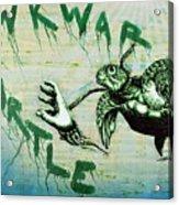 Awkward Turtle Acrylic Print by Tai Taeoalii