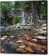 Awosting Falls In July Iv Acrylic Print