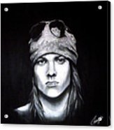 Axl Rose - Welcome To The Jungle Acrylic Print