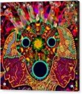 Ayahuasca Dimensional Encounter Acrylic Print