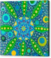 Ayahuasca Vision - Inside The Plant Cell  May 2015 Acrylic Print