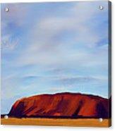 Ayers Rock V2 Acrylic Print