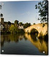 Aylesford Bridge Kent Acrylic Print