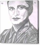 Ayn Rand Acrylic Print