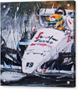 Ayrton Senna Toleman 1984 Acrylic Print
