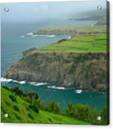 Azores Coastal Landscape Acrylic Print
