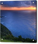 Azores Islands Sunset Acrylic Print