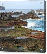 Azores Seascape Acrylic Print